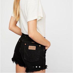 Wrangler reworked shorts
